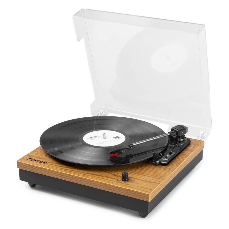 FENTON RP112L RECORD PLAYER BT WOOD