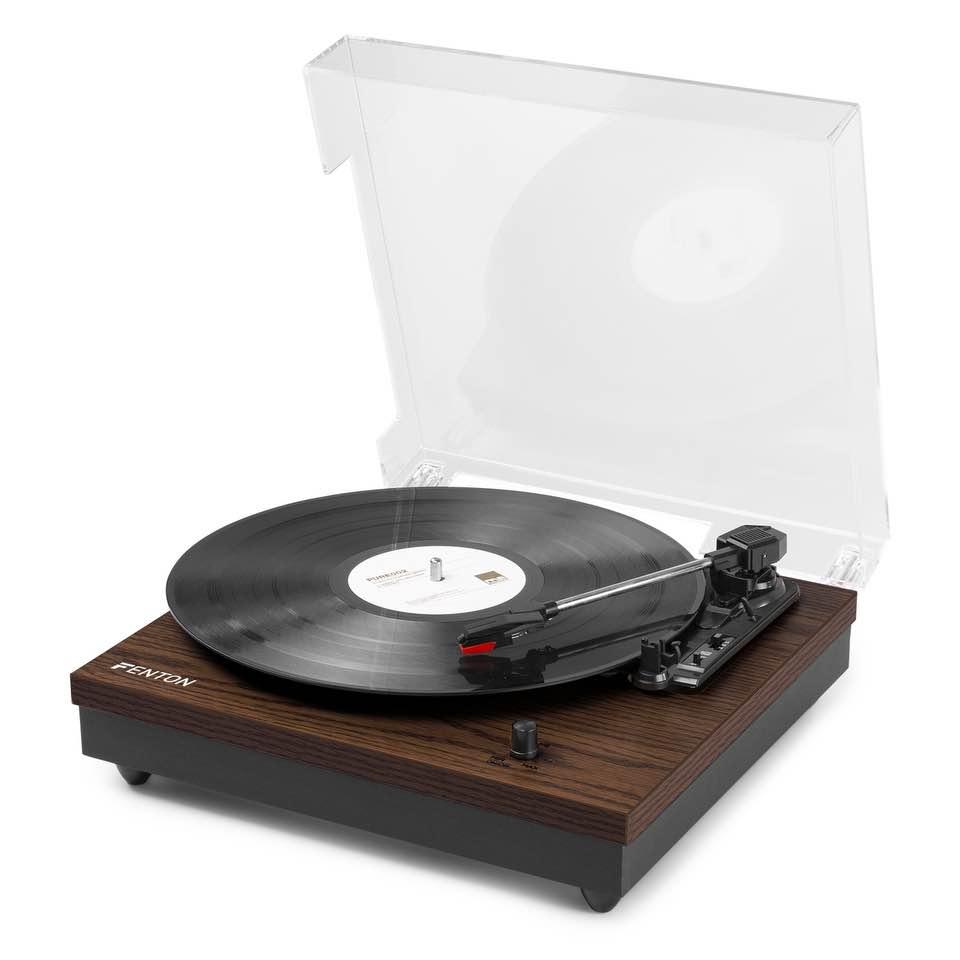 FENTON RP112D RECORD PLAYER BT DARKWOOD