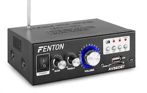 FENTON AV360BT AMPLIFICATORE KARAOKE FM / USB / SD