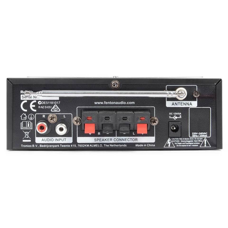 FENTON AV380BT SET AMP MP3/BT, 2 SPK,2 MIC