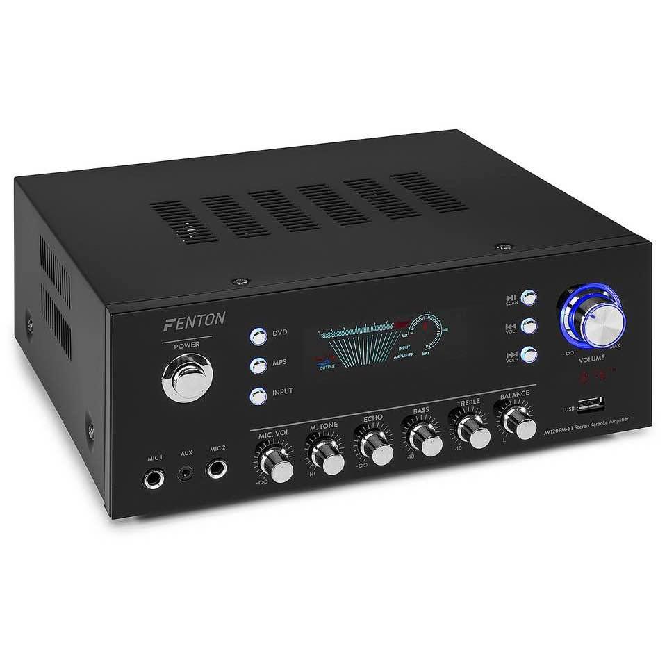FENTON AV120FM-BT STEREO HIFI AMP.