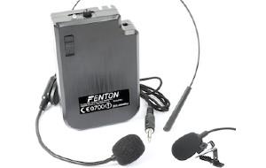 FENTON AURICOLARE WIRELESS VHF 201.400 MHZ