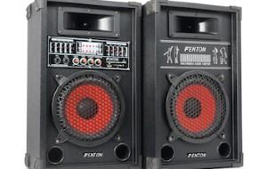 FENTON SPA800 ACTIVE SPEAKER SET 8″ USB, SD