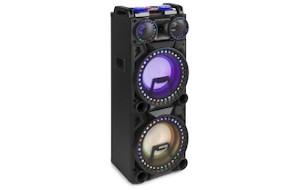 FENTON ALTOPARLANTE ATTIVO VS210 2X10″ BT, USB, LED