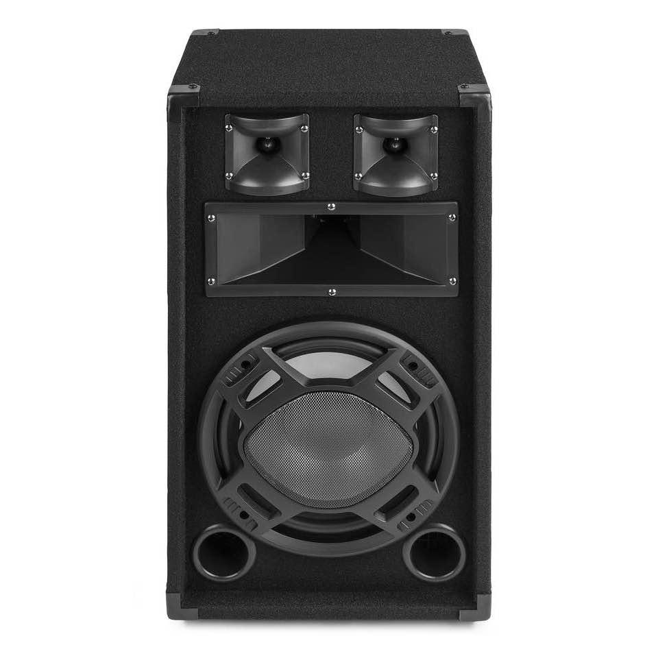 FENTON BS10 BLACK PA SPEAKER 10″ LED 400W