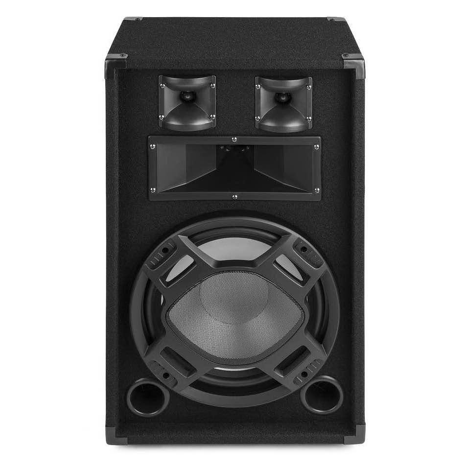 FENTON BS12 BLACK PA SPEAKER 12″ LED 600W