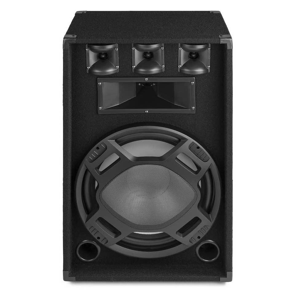 FENTON BS15 BLACK PA SPEAKER 15″ LED 800W