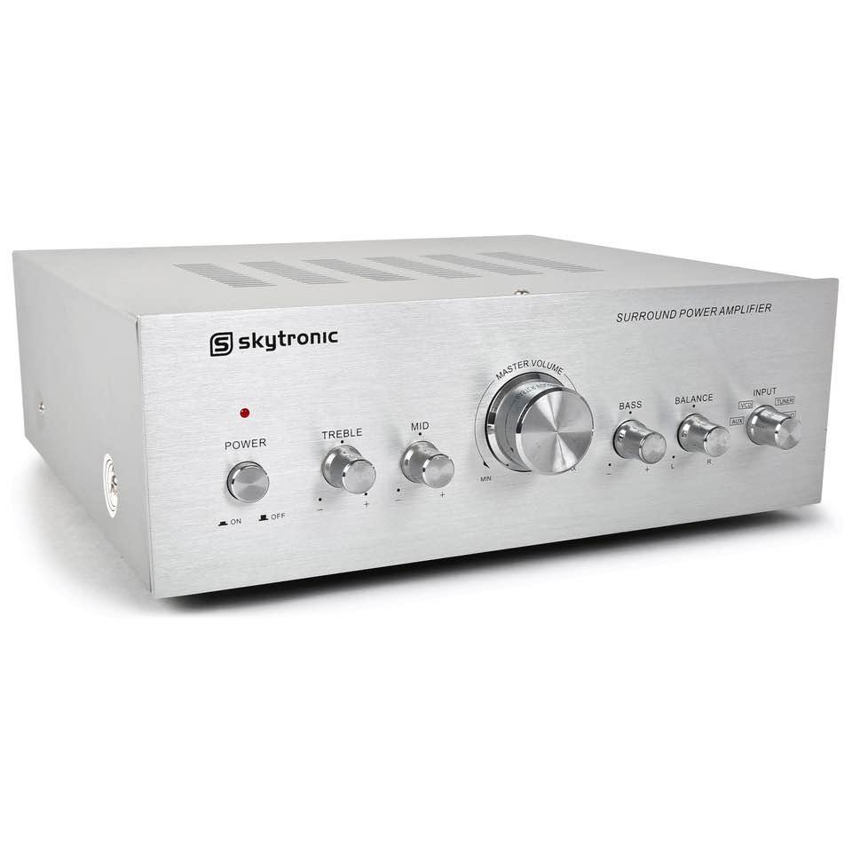 SKYTRONIC AV400 2 CH AMPL. 2X200W ALUM.