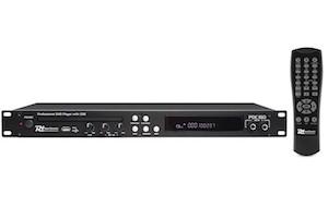 POWER DYNAMICS PD150 LETTORE DVD CON CD+G E USB DA 19″ INCL. TELECOMANDO