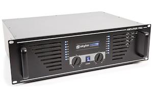 SKYTEC SKY-1500B AMPLIFICATORE PA 2X 750 WATT NERO