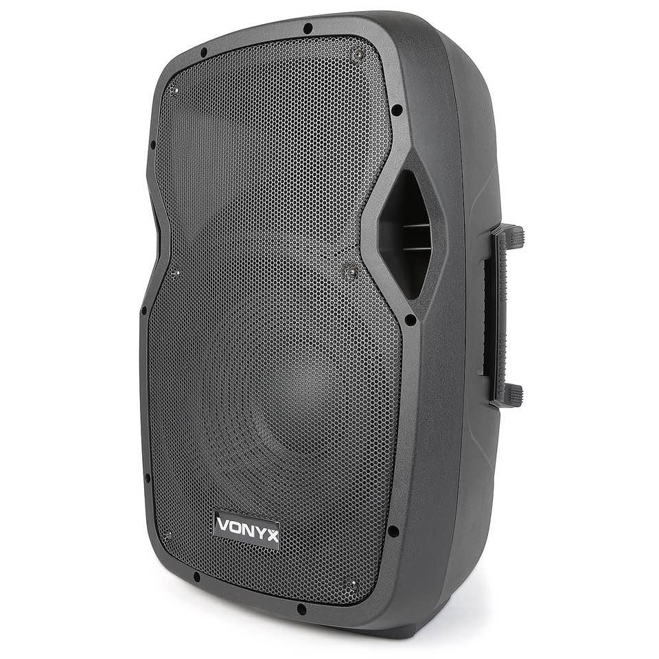 VONYX AP1200PA MOBILE AMP 12″ BP-HH-UHF/